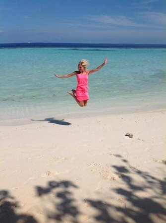 Lily Beach Resort & Spa: jump for joy