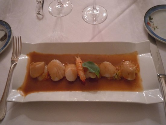 Restaurant Benureau : saint jacques