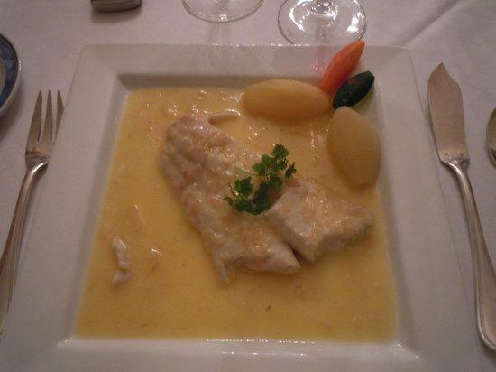 Restaurant Benureau : Sandre  au beurre blanc