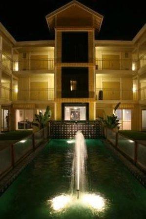 Hotel Solares: fountain