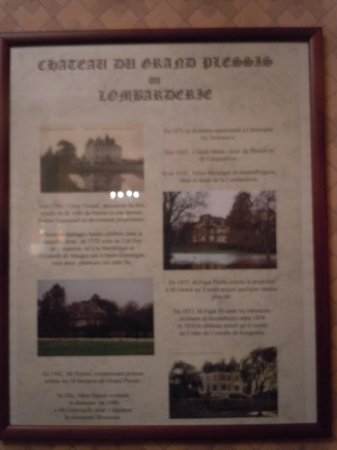 Restaurant Benureau : Histoire du manoir