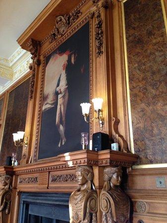 Callendar House: Tearoom artwork