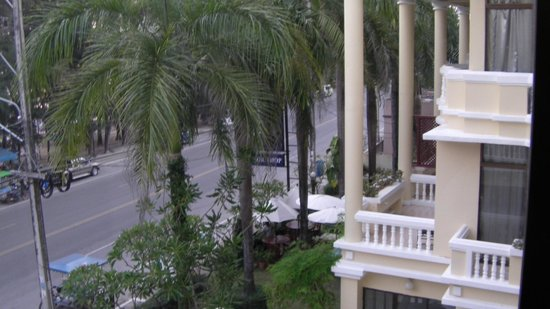 Mae Pim Resort Hotel : View from room