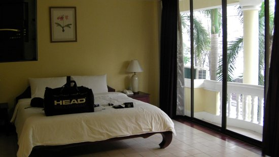 Mae Pim Resort Hotel : Bedroom view