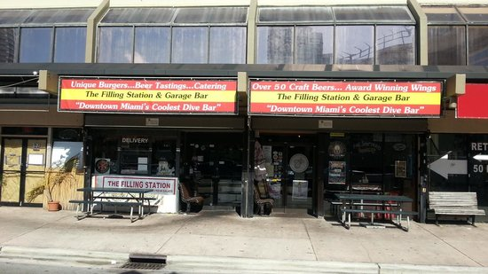 The Filling Station: outside