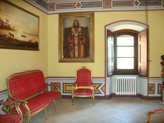 Castello di Valenzano : Treppenhaus
