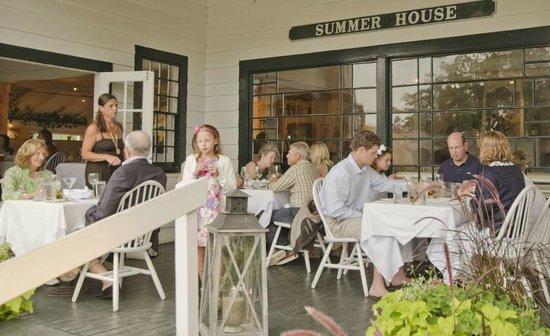 The Summer House Restaurant: Dining al fresco