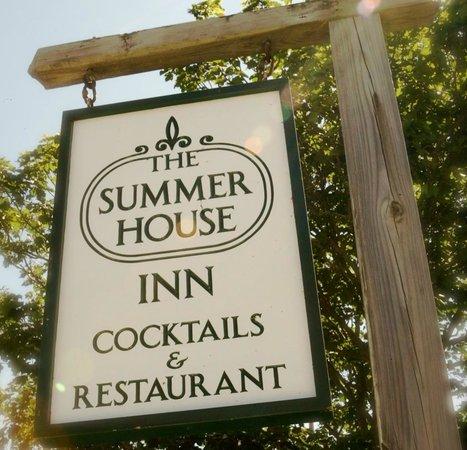 The Summer House Restaurant: Summer House Street Sign