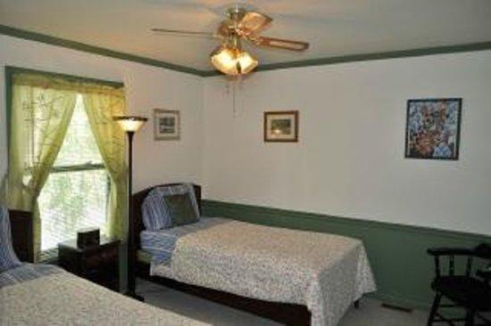 Anne Street Bed and Breakfast: Silk room