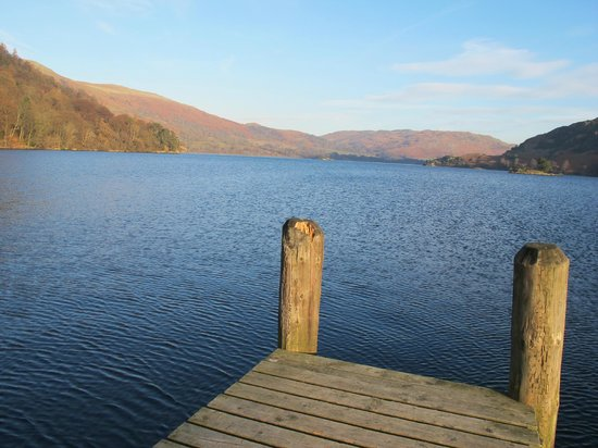 Inn on the Lake: View of Ullswater from Hotel Jetty