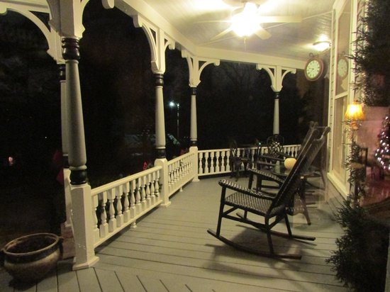 Image result for porch at night