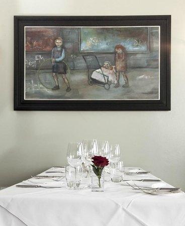 Two Fat Ladies at the Marine: Restaurant Interior
