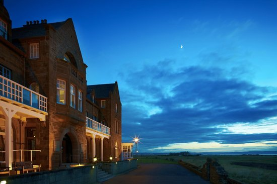Two Fat Ladies at the Marine: The Marine Hotel, Troon