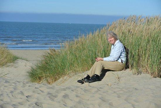Hotel Sandeshoved : having a rest in the dunes of nearby Oostduinkerke -081013
