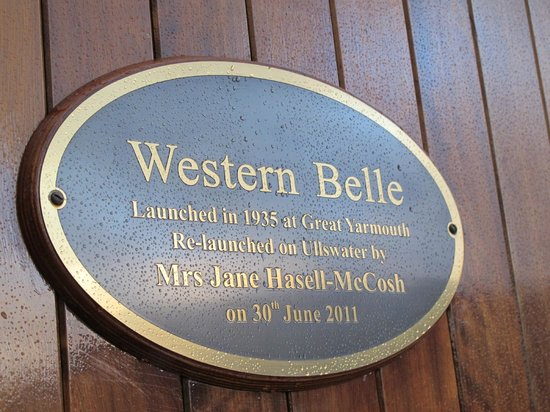 Ullswater Steamers: Western Belle served during WWII