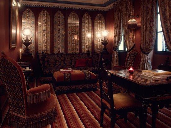 Hotel Bourg Tibourg : salon