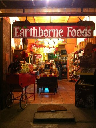 Earthborne Foods: market and mexican food!
