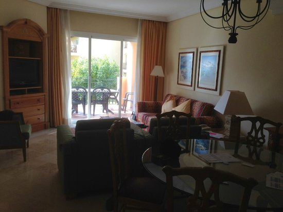 Marriott's Marbella Beach Resort: Living Room