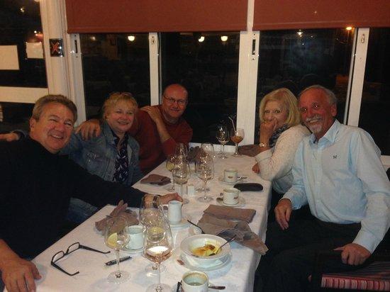 Marriott's Marbella Beach Resort: Dinner with Friends we meet at Resort
