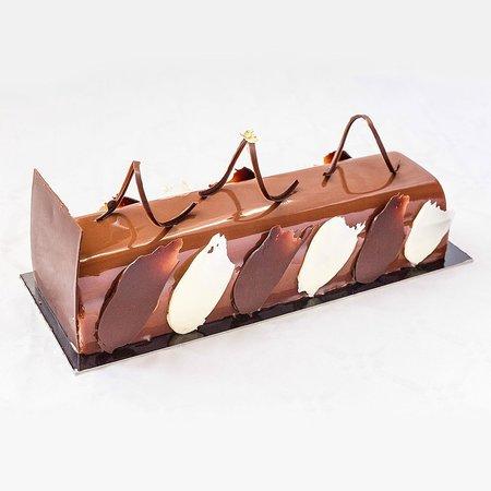 Chez Yan Blonay: Bûche 3 chocolat