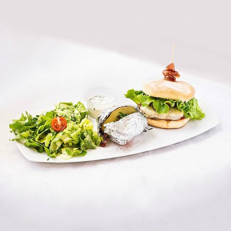 Chez Yan Blonay: Notre beef burger