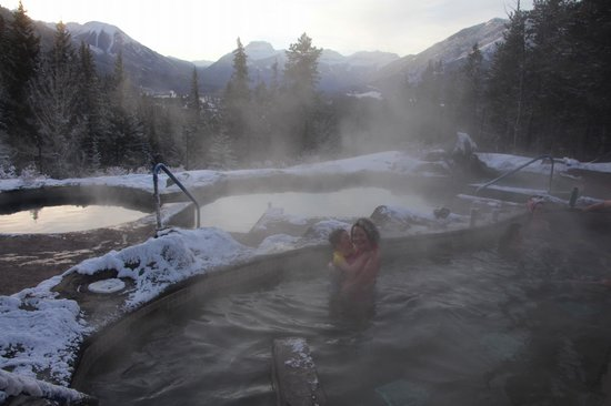 Hidden Ridge Resort: Hot pools