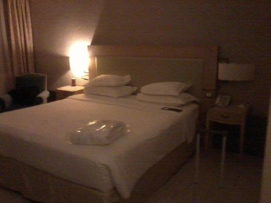 Sheraton Parco de' Medici Rome Hotel : camera da letto