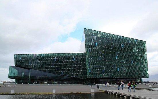 Harpa Reykjavik Concert Hall and Conference Centre: вид снаружи