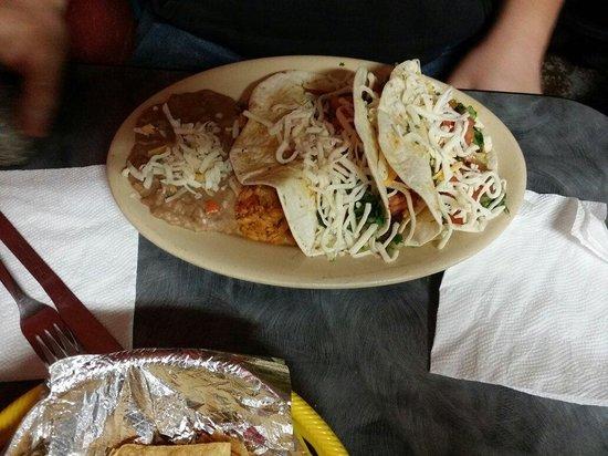 Taco Palenque : Tacos de carnitas.