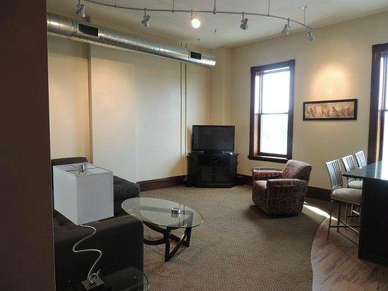 Teerman Lofts : The Ontario-Living room
