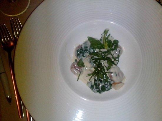 Flowers Restaurant: starter - gnocchi