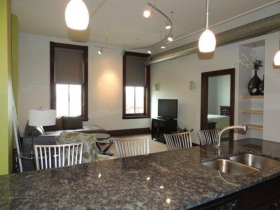 Teerman Lofts : The Superior-Living room