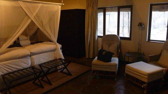 Mushara Lodge: inside my chalet