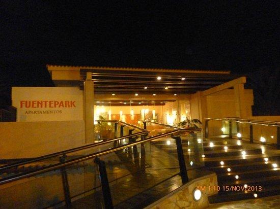 Fuentepark Apartamentos: Reception