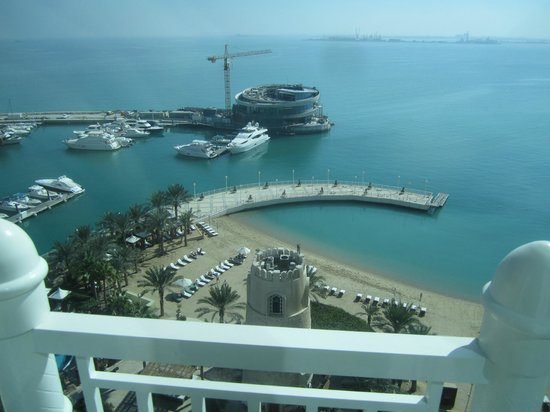 Four Seasons Hotel Doha: VIEW FROM ROOM