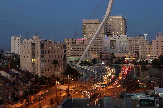 Jerusalem Gardens Hotel & Spa : The view