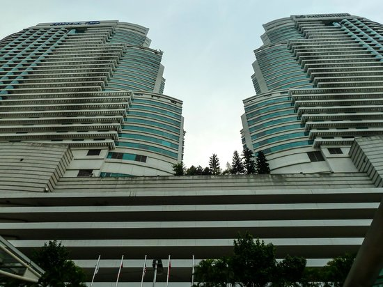 Hilton Kuala Lumpur : The iconic twins, the Hilton and the Le Meridien KL