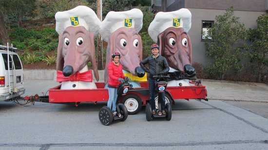 City Segway Tours San Francisco: Ask about these dogs