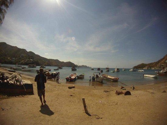 Hotel Casa D'mer Taganga: Vista Mar