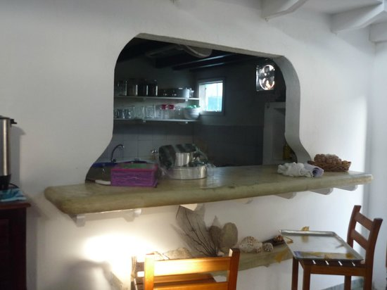 Posada Guaripete: Kitchen