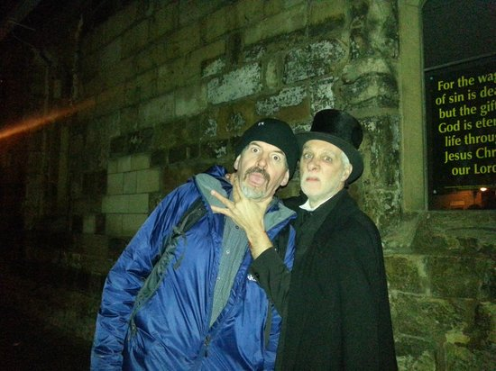 The Ghost Hunt of York: Andy got me by the throat....