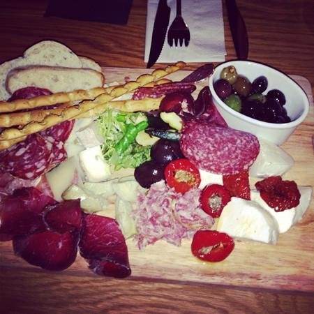The Vine Italian Restaurant And Deli: Best board we've ever had. Great variety