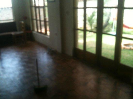 The Beehive : hallway