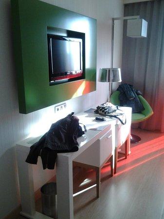 Double Tree Hilton  Hotel Girona: Habitacion