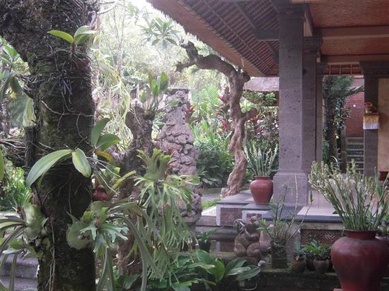 Alam Indah : View from Breakfast area