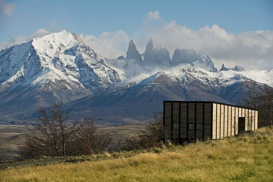 "Our 14 Private Villas overlook the famous ""Torres del Paine"". (86069007)"