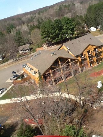 Waubee Lake Lodge: View from above