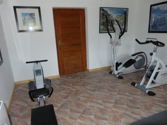Haus Karl's Ruh: Gym/Fitness room