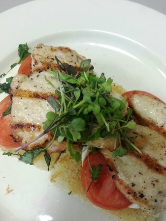 Vista's Land and Sea: Grilled Chicken