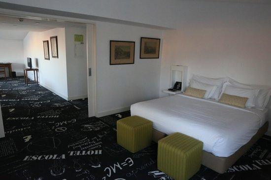 Hotel da Estrela: Спальня и прихожая